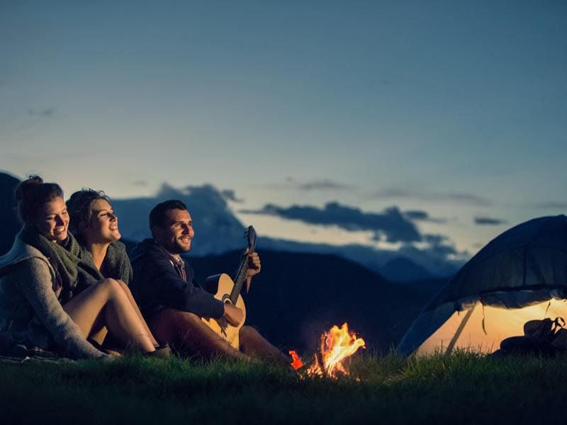 Création d'espaces de camping
