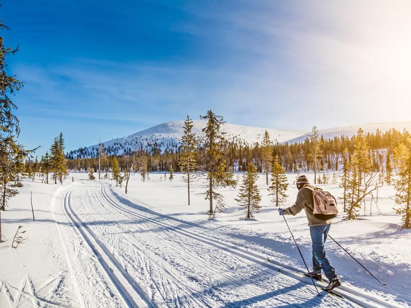 Développement et entretien – sentier de ski de fond